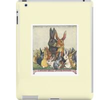 Easter Bunny Family Portrait iPad Case/Skin