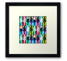 Body Language 26 Framed Print