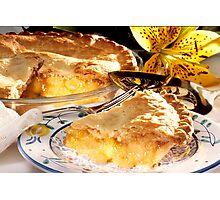 Apple Pie Dessert  Photographic Print