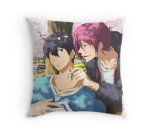 Cherry blossom memories... Throw Pillow