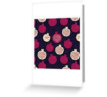 Garnet splash Greeting Card