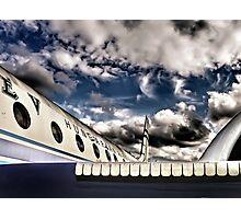 Good bye blue sky Photographic Print