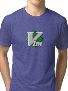 Vim - Text Editor - Since 1991 Tri-blend T-Shirt