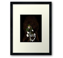 Game of Blades Framed Print