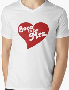 Soon To Be Mrs. Mens V-Neck T-Shirt