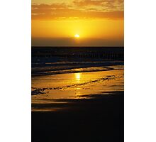 SunsetBeach Photographic Print