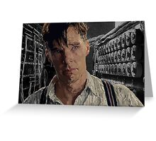 The Imitation Game - Benedict Cumberbatch Digital Portrait  Greeting Card