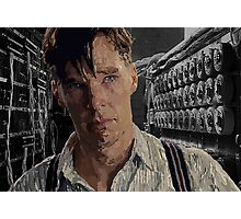 The Imitation Game - Benedict Cumberbatch Digital Portrait  Photographic Print