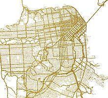 San Francisco map by AnnaGo