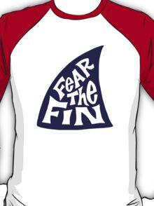 Fear the Fin - Bay State Sharks Girls Fastpitch Softball T-Shirt