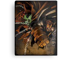 Spawn and Hellboy Metal Print