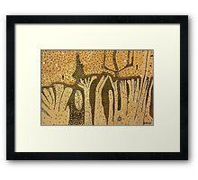 Sand Forest, Cow Bay Framed Print