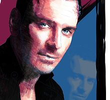 Michael Fassbender by hologarithm