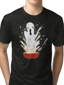 Haunted Breakfast Tri-blend T-Shirt