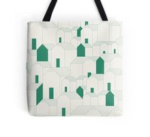 Hill Houses Tote Bag