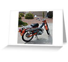Honda Trail CT 90 Greeting Card