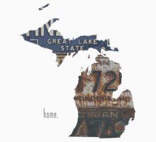 Michigan Home One Piece - Short Sleeve