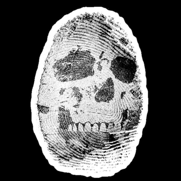Skull Print by kgittoes