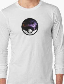 The World In A Pokeball Long Sleeve T-Shirt