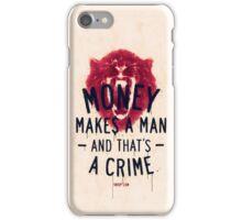 A CRIME (VARIANT) iPhone Case/Skin