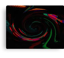 Arrows Vortex Canvas Print