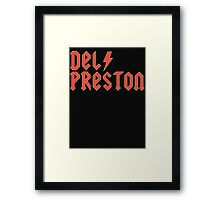 Wayne's World (Del Preston)  Framed Print