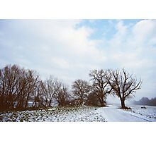 A Walk in Winter Photographic Print