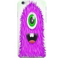 scruffy monster iPhone Case/Skin