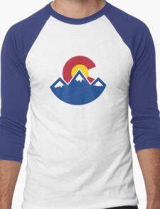 Colorado Sunset Men's Baseball ¾ T-Shirt