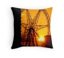 Sunset Dial Throw Pillow