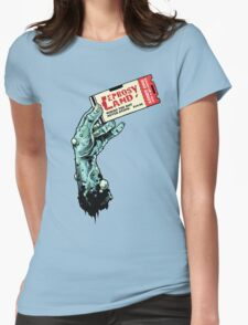 Leprosy Land! Womens Fitted T-Shirt