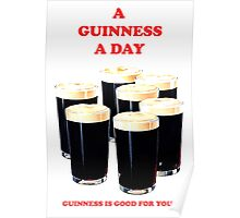 a pint a day Poster