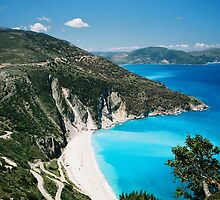 Myrtos Beach, Greece by ericamanuela