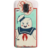 Ghostbusters (Stay Puft)  Samsung Galaxy Case/Skin