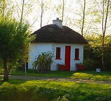 Irish Canal Cottage by Aishling O'Neill