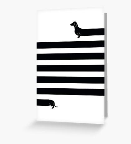 (Very) Long Dog Greeting Card