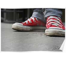 Converse (Red) Poster