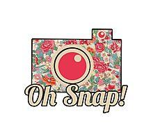 Oh Snap! Camera Photographic Print