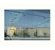 Berlin: DDR housing Art Print