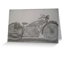 Velocette 1936 Greeting Card