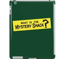 What IS the Mystery Shack? iPad Case/Skin
