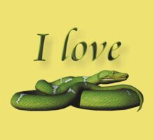 I Love Snakes by Lisa  Weber
