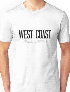 West Coast Best Coast Unisex T-Shirt