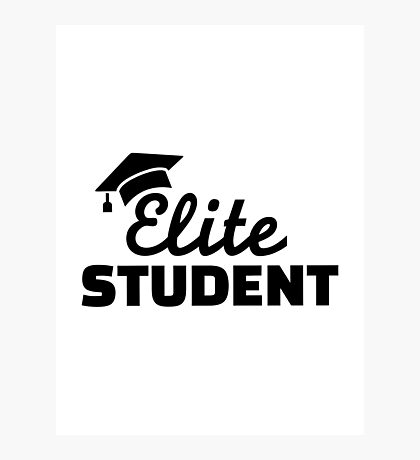 Elite Student Photographic Print