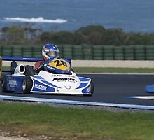 Superkart in Blue by zoompix