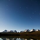 Sawtooths by Moonlight by Nolan Nitschke
