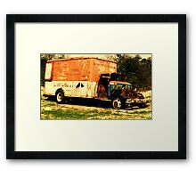 Cheap Movers Framed Print