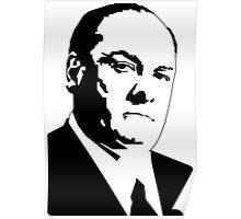JAMES GANDOLFINI TONY SOPRANO GRAPHIC ART PORTRAIT Poster