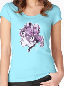 DedTedHed Purple Women's Fitted Scoop T-Shirt