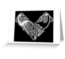 Celtic Dragons 1 Greeting Card